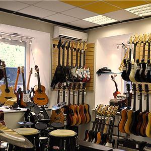 Музыкальные магазины Белоомута